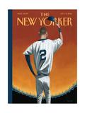 Derek Jeter Bows Out - The New Yorker Cover, September 8, 2014 Giclée premium