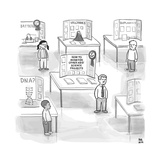 "At a science fair  first place goes to a child whose project reads ""How to - New Yorker Cartoon"