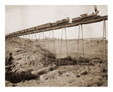 Dale Creek Bridge  Wyoming  Union Pacific Railway  1885