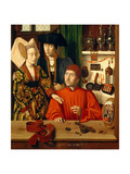 A Goldsmith in his Shop  1449