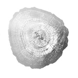 Silver Foil Tree Ring IV
