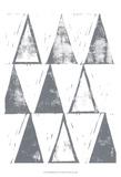 Triangle Block Print I