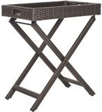 Bardia Folding Tray Table - Brown