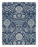 Baroque Tapestry in Navy II