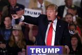 GOP 2016 Trump Papier Photo par Marcio Jose Sanchez