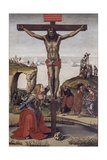 Crucified Christ with Mary Magdalene  1490