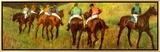 Racehorses in a Landscape (detail)