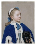 Portrait of Maria Frederike van Reede-Athlone at Seven Years of Age