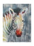 Prism Zebra I Reproduction d'art par Grace Popp