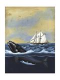 Whaling Stories II Reproduction d'art par Naomi McCavitt