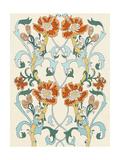 Nouveau Floral Pattern I Reproduction d'art par Naomi McCavitt