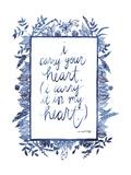 Love Quote III Reproduction d'art par Grace Popp