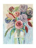Roseate Posy I Reproduction d'art par Grace Popp