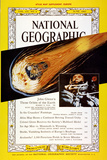 Cover of the June  1962 National Geographic Magazine
