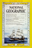 Cover of the April  1962 National Geographic Magazine