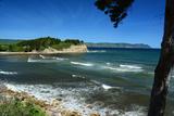 Scenic View of White Point and Aspy's Bay in Cape Breton  Nova Scotia