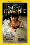 Cover of the September  1990 National Geographic Magazine