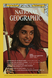 Cover of the October  1973 National Geographic Magazine