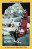 Cover of the March  1988 National Geographic Magazine