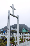 A Crucifix at the Gate of a Fishing Village Cemetery