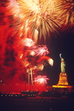 The Statue of Liberty Underwent Restoration and Reopened Liberty Weekend July 3-6  1986