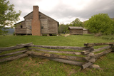 The Dan Lawson House in the Cades Cove Section of Great Smoky Mountains National Park