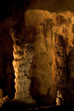A Formation at Devil's Spring  Carlsbad Caverns National Park  New Mexico