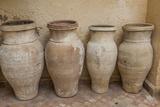 Antiques Clay Water Pots Decorate the Entrance to Le Jardin Des Biehn
