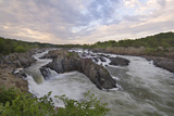 Early Summer  Great Falls of the Potomac River  from Virginia Side of the River
