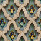 Hassan Ii Mosque Tile Detail