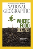 Cover of the September  2008 National Geographic Magazine