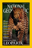 Cover of the October  2001 National Geographic Magazine