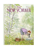 The New Yorker Cover - July 16  1984