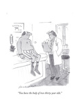 """""""You have the body of two thirty-year olds"""" - Cartoon"""