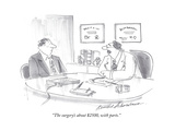 """""""The surgery's about $2500  with parts"""" - Cartoon"""