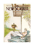 The New Yorker Cover - August 21  1978