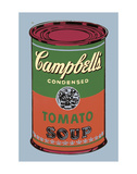 Campbell's Soup Can, 1965 (Green and Red) Reproduction d'art par Andy Warhol