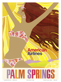 Palm Springs - California Girl - American Airlines