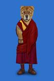 Tibet (Pets Rock) Reproduction d'art par Takkoda