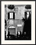 Street Scene in Rome on the Piazza Navona