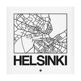 White Map of Helsinki