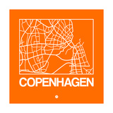 Orange Map of Copenhagen