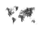World Map Drawing 1