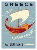 Greece - Aegean Cruises - by M/V Semiramis - Greek islands  including Skiathos  Delos  Skyros  Milo