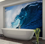 Surf Wave Wall Mural