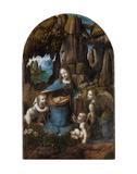 Virgin of the Rocks, 1503-1506 Reproduction d'art par Leonardo Da Vinci