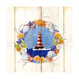 Coastal Lighthouse Wreath