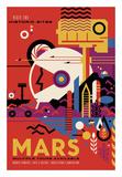 Mars Reproduction d'art par Vintage Reproduction