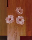 Three White Flowers II