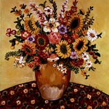 Golden Vase Floral